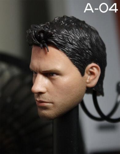 "1:6 SCALA Resident Evil Chris TESTA UOMO SCULTURA TESTA giocattolo F 12/"" MASCHIO Action Figure"