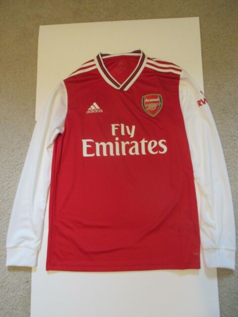 Adidas Arsenal Home Jersey Long Sleeve Eh5645 Size Small For Sale Online Ebay