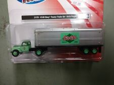 Classic Metal Works HO 44-1946 Chevy Tractor Trailer SoCal Freight Cmw31178
