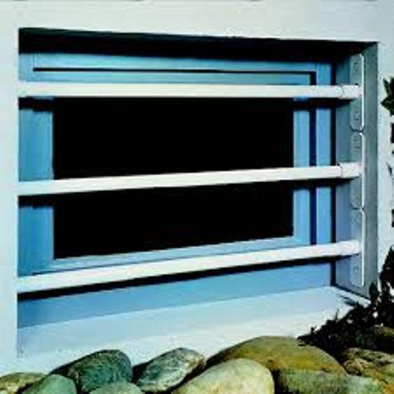Sträb Fenstergitter Kellerfenstergitter Gitter mit 1, 2 o. 3 Stangen siehe Text