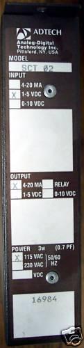 El adtech Modelo Sct 02 de salida dual aisladas aisladas aisladas Transmisor b2fbca