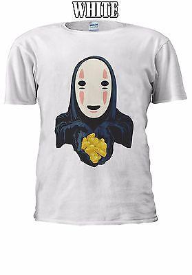 No-Face Kaonashi Spirited Away Gold T-shirt Vest Tank Top Men Women Unisex 2505