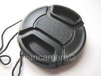 Front Lens Cap For Fuji Finepix Fujifilm S4250 S-4250 + Cap Keeper Snap-on Cover