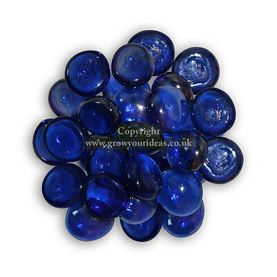 Glass Blue Nuggets