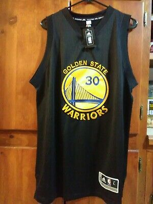 buy popular 66f6d 1d75a NEW adidas climacool men's Large black Steph Curry Jersey Golden State  Warriors | eBay