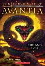 The Chronicles of Avantia #4: Fire and Fury-ExLibrary