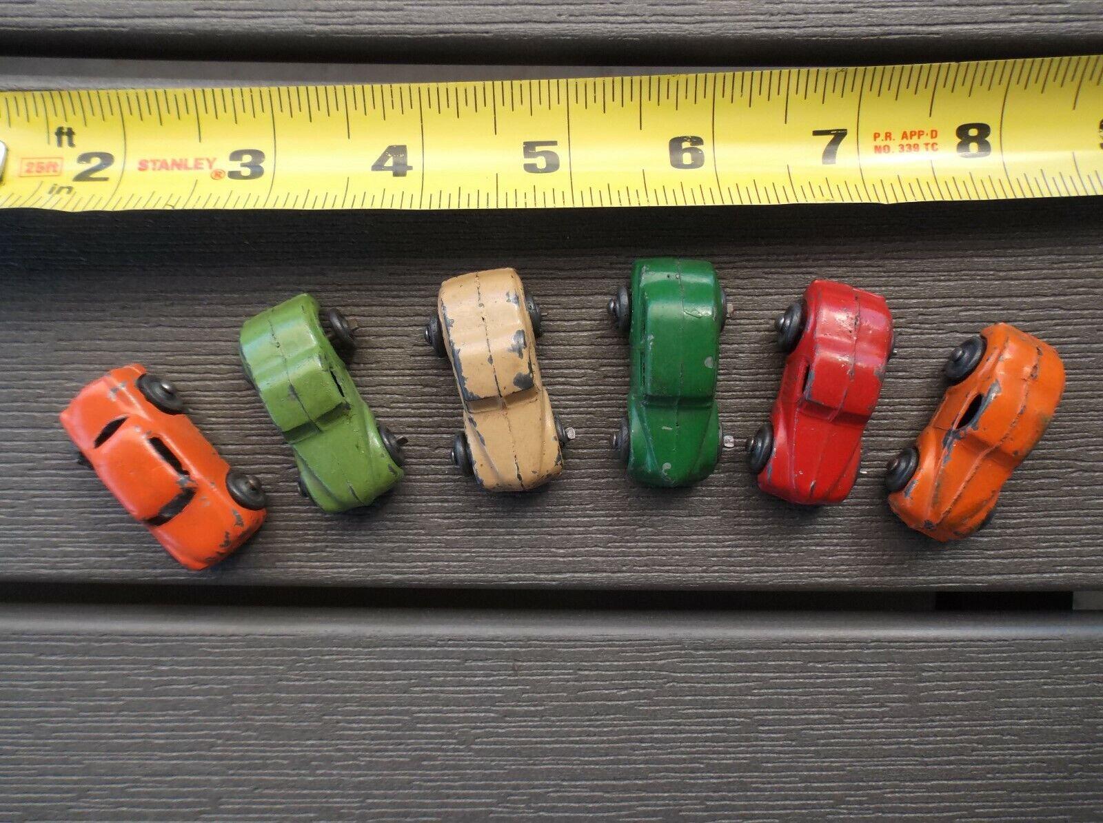 VINTAGE DIE CAST MINIATURE TOY CARS -- RARE!