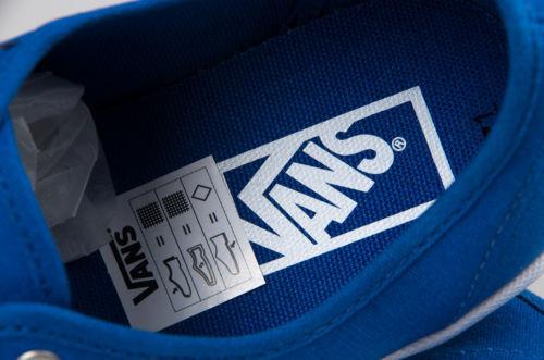 5 Blue da Size da Snakers uomo 5 Authentic Scarpe Vans Light ginnastica da Lite Scarpe Ortholite ginnastica 1xTqwZn