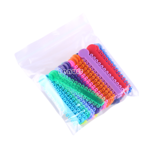1X1040pc-bag-Orthodontic-Dental-Elastic-Rubber-Band-Multi-color-Ligature-Ties
