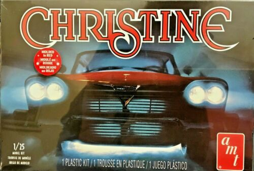 AMT Stephen King CHRISTINE Red Haunted Car Plastic Model Kit 1//25 scale