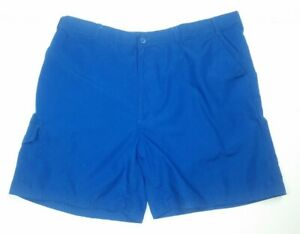 c5e9ad8693 Haband's Fit Forever Men's Size 42 Shorts Blue Cargo Style 068 ...