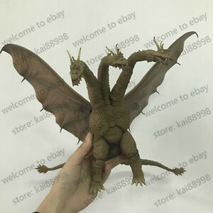 S-H-MonsterArts-King-Ghidorah-2019-Godzilla-King-of-Monsters-Figure-New-Loose