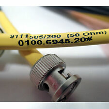 Schwarzbeck Hf Dv Hd Bnc Cable 9111505200 50 Ohm 0100694520