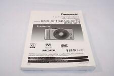 Panasonic Digital Camera DMC-GF1C/GF1K/GF1 Operating Instructions (EN) 7116008