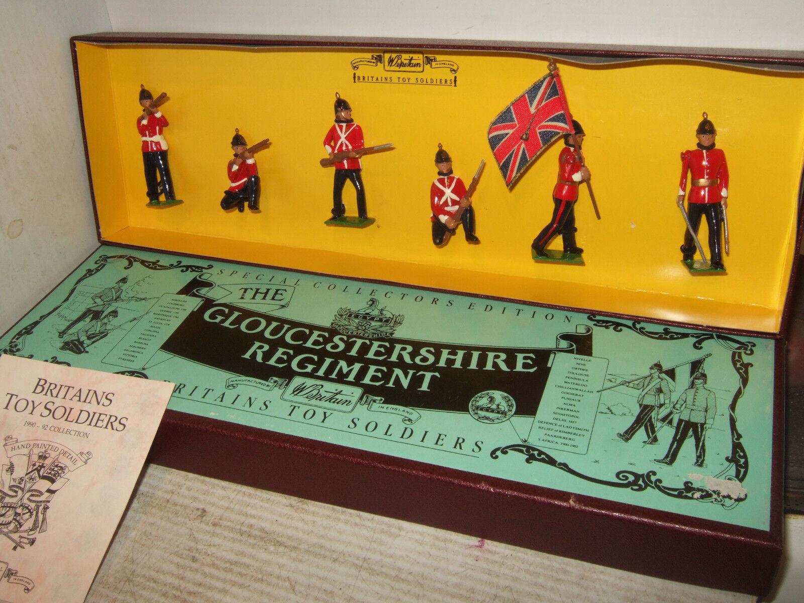 Britains 8809 The Gloucestershire Regiment, 6 Piece in Original Britains Box.