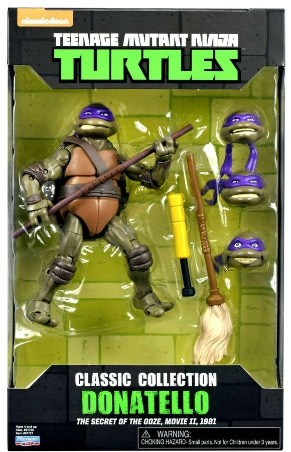 The Secret of the Ooze Classics Collection Donatello Action Figure