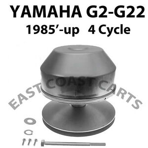 Details about Yamaha G2,G8,G9,G14,G16,G19, & G22 Golf Cart Drive Clutch on