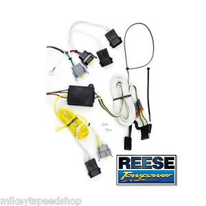 Details about 95-98 WINDSTAR TRAILER HITCH WIRING HARNESS wire ke light on