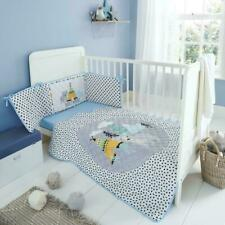 Safari Adventure Fitted Sheet Cotbed White Baby Bedding Cot Bed Nursery Sleep Uk