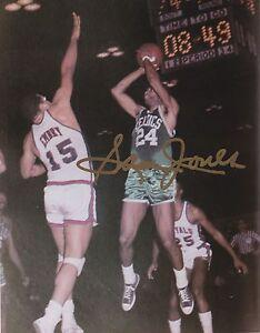 new products c8e96 c5cca Details about Autographed SAM JONES 8x10 photo HOF NBA Boston Celtics  basketball COA