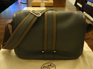 b9906e33cdb Image is loading Hermes-Men-039-s-Messenger-Bag
