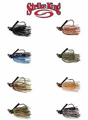 Select Size//Color Strike King Bitsy Flip Jig