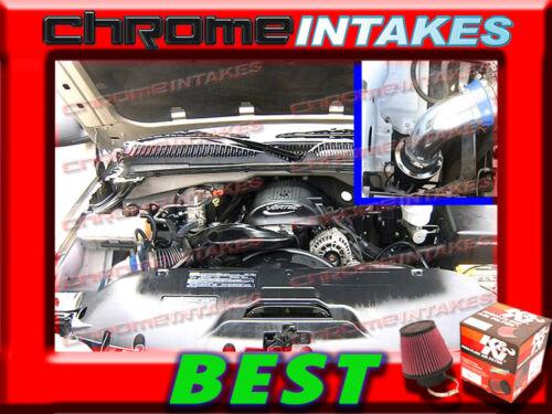 K/&N+BLUE RED 99-07 CHEVY//GMC//CADILLAC TRUCK//SUV 4.8L 5.3L 6.0L 8.1L AIR INTAKE