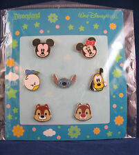 Disney Pins Cute Characters MICKEY MINNIE FACES Others Mini-Pin Booster Set of 7