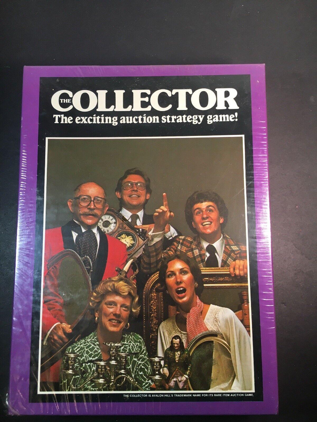 The Collector Avalon Hill Bookshelf Game Rare 1977 NEW   Rare Game 7f7f74