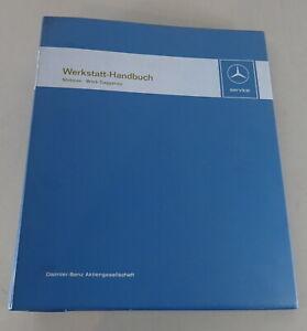 Workshop Manual Mercedes Lorry Engines Om 346, 346 A+ 355.96 Factory Gaggenau