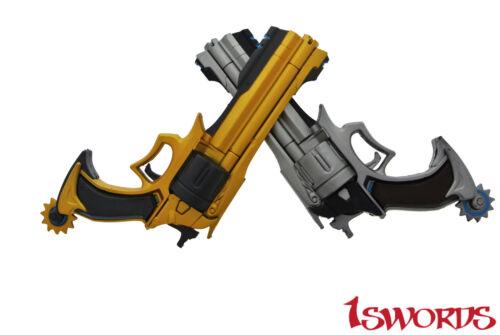 Overwatch OW Jesse Mccree Gun Weapon Replica1:1 Scale Cosplay Prop Handgun