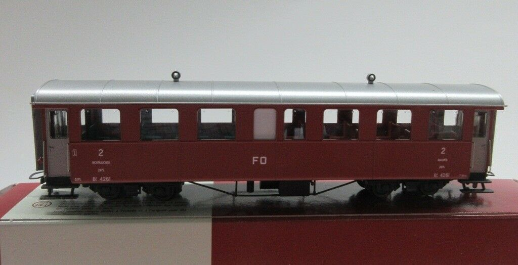 BEMO 3246 233 3246233 FO B 4261 rinnovo auto auto auto 2 classe traccia h0m corrente continua DC NUOVO 8dc1f6