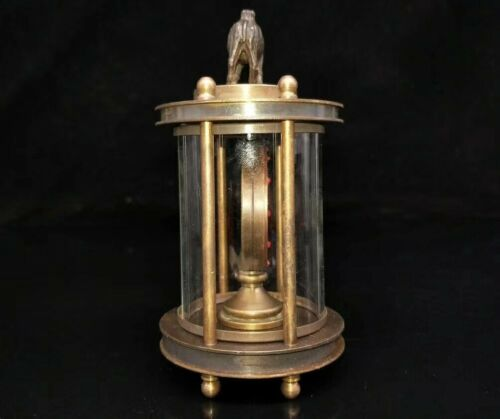 European Exquisite Brass /&Glass The camel Classical Mechanical Clock OSB18-g