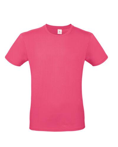 B/&C Mens Short Sleeve T-Shirt E150 Tees