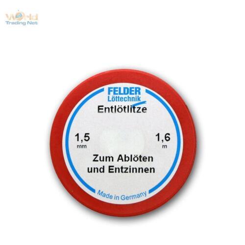 sauglitze to 2,12 €//m m 1,6m medium wire desolder 1,5mm width