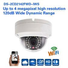 Hikvision DS-2CD2142FWD-IWS 4MP IP Kamera WDR POE Mini Dome CCTV WIFI IR Kamera