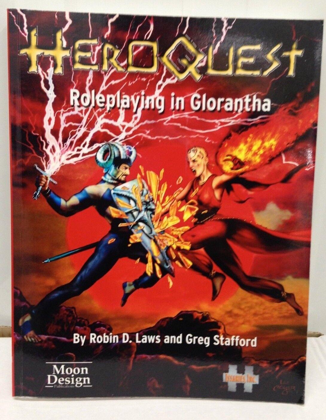 Heroquest - rollenspiel in glorantha - neue