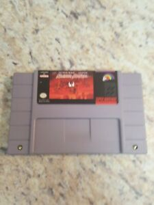 Maximum Carnage (Super Nintendo Entertainment System, 1994) authentic Legit