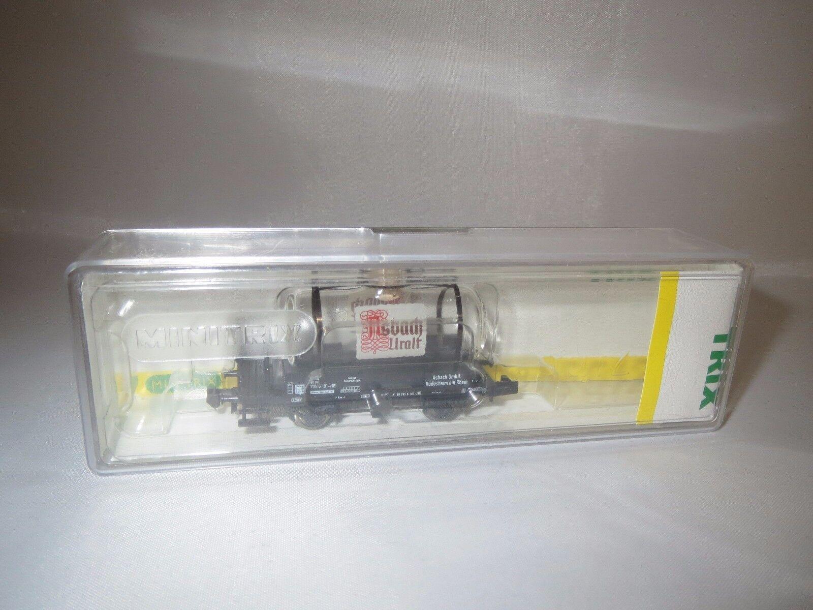 Trix 15035 Spur N vetro vetro vetro Caldaia Carrello  Asbach  OVP  d98894