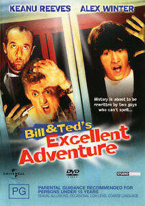 Bill-and-Ted-039-s-Excellent-Adventure-DVD-NEW-Region-4-Australia-Keanu-Reeves
