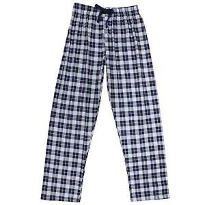 Pantalon-Pijama-Azul-Hombre-Cuadros-Casa-Caballeros-Largo-Primavera-Ligero-Ropa