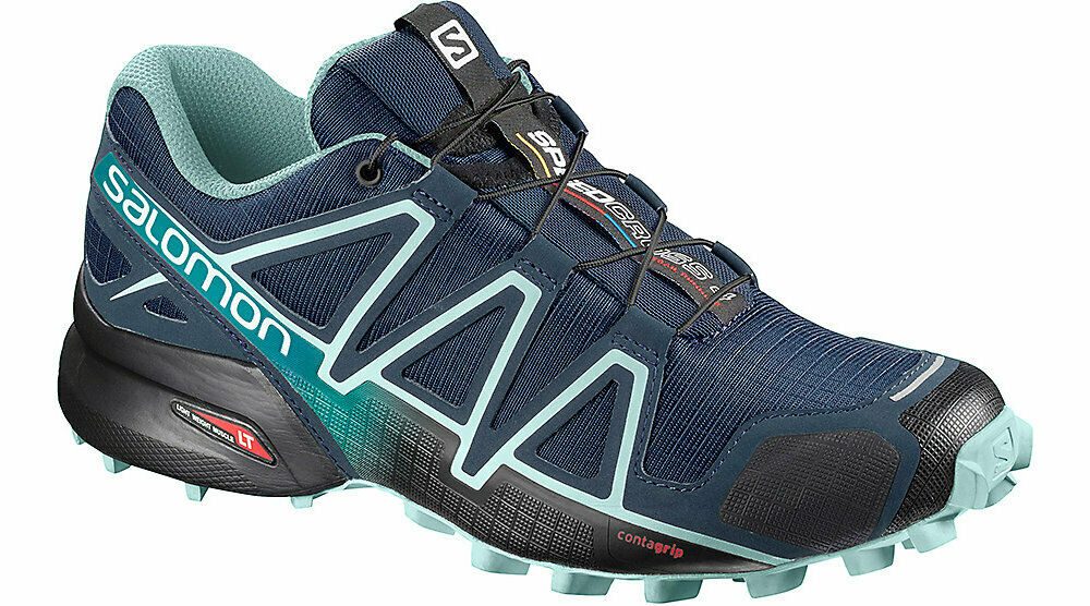 laringe esta rotación  Salomon Speedcross Contagrip Women Running Trail Shoes Sz 6 for sale online  | eBay