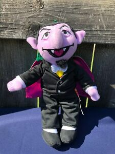 Details About Count Von Count Sesame Street 10 Plush 40 Year Celebration Fisher Price 2009