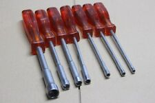 Occasion: jeu de 7 clés emmenchées a tube avec poignee tournevis FACOM série 74