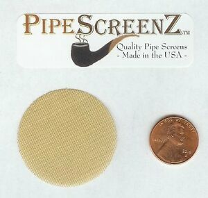 100-COUNT-BRASS-Pipe-Screens-1-1-2-1-50-60-Mesh-Quality-Proudly-Made-in-USA