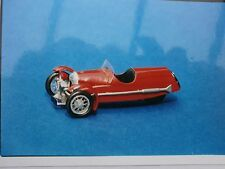 Morgan 3 wheeler sports car kit - white metal model to assemble and paint 1:43