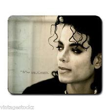 Michael Jackson Potret Memory Optical Mousepad Mats Mouse Pad Notebook Computer