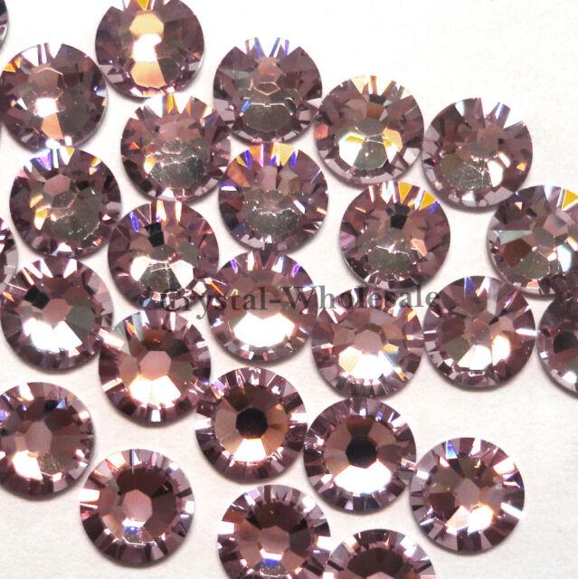 144 Swarovski 2058 6ss crystal flatback rhinestones ss6 LIGHT AMETHYST (212)