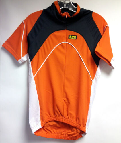 INVERSE Life CYCLING JERSEY Orange SHORT SLEEVE Road
