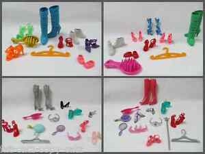 BARBIE-SINDY-DOLL-CLOTHING-ACCESSORIES-9-PIECE-SETS-BOOTS-SHOES-HANDBAG-COMB